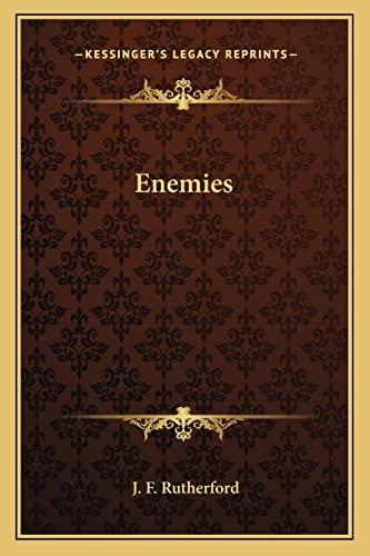 9781162732107: Enemies