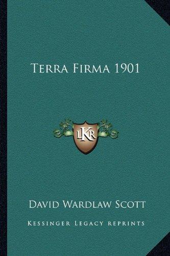 9781162734590: Terra Firma 1901