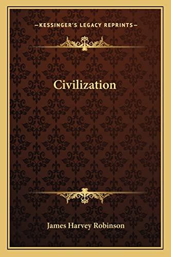 9781162741666: Civilization