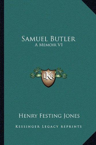 9781162745572: Samuel Butler: A Memoir V1