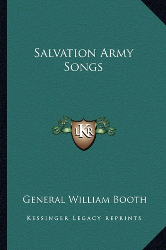 9781162757469: Salvation Army Songs