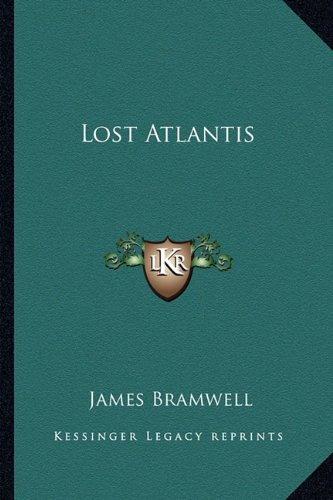 9781162772981: Lost Atlantis