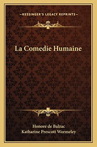 9781162777115: La Comedie Humaine