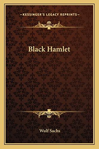9781162787558: Black Hamlet