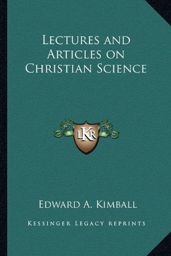 9781162791500: Lectures and Articles on Christian Science