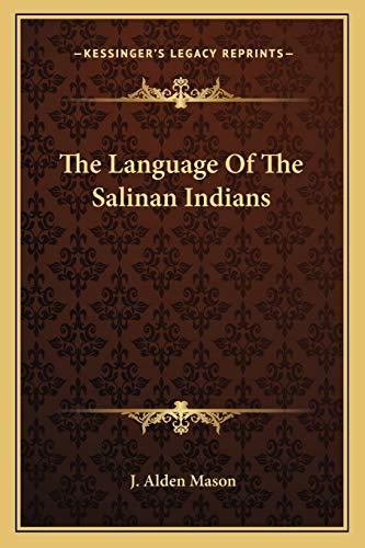 9781162792859: The Language of the Salinan Indians