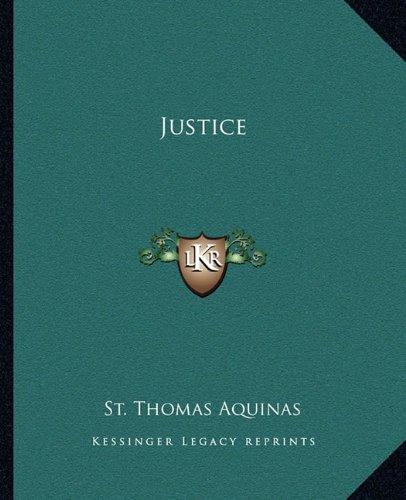 9781162818528: Justice