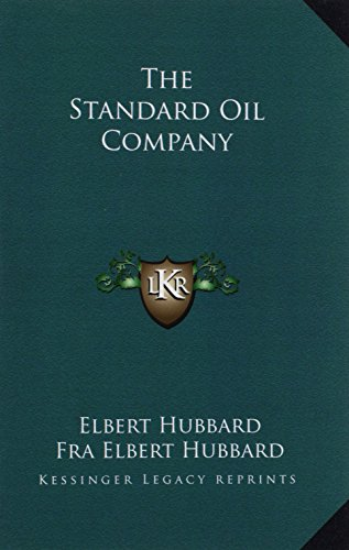 9781162825410: The Standard Oil Company