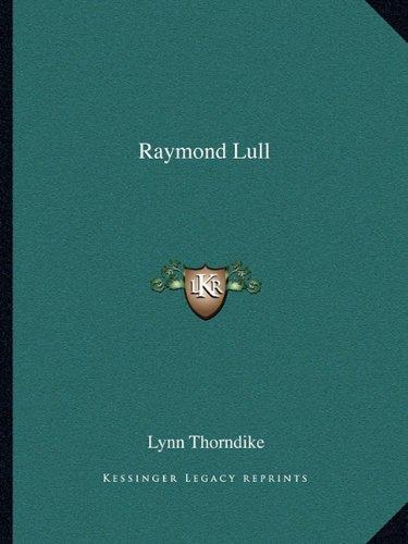 9781162828879: Raymond Lull