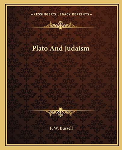 9781162832036: Plato and Judaism