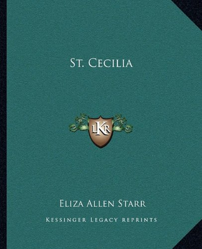 9781162837239: St. Cecilia