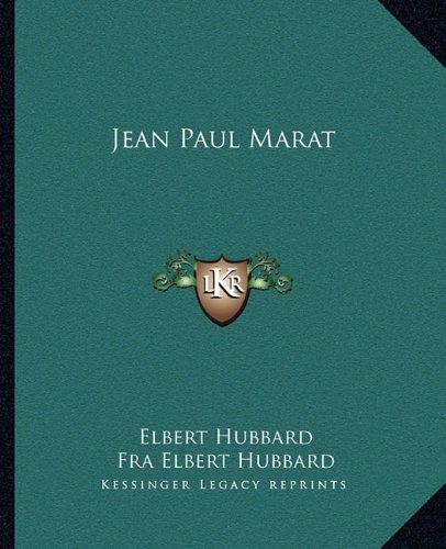 9781162866321: Jean Paul Marat