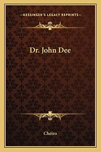 9781162875064: Dr. John Dee