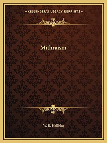 9781162875453: Mithraism