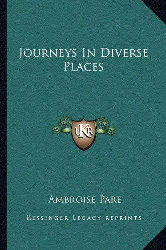 9781162899190: Journeys In Diverse Places