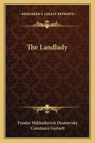 9781162903354: The Landlady
