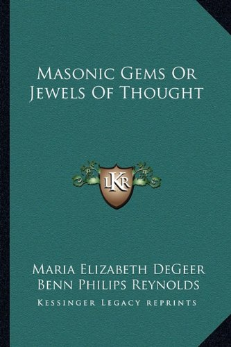 9781162912851: Masonic Gems Or Jewels Of Thought