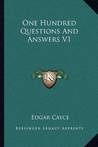9781162916354: One Hundred Questions And Answers V1