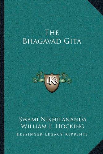 9781162918389: The Bhagavad Gita