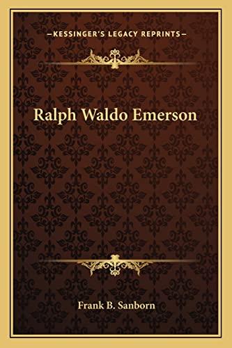 9781162944586: Ralph Waldo Emerson