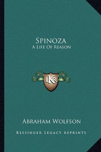 9781162948263: Spinoza: A Life of Reason