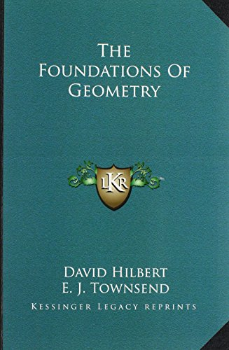 9781162949536: The Foundations Of Geometry