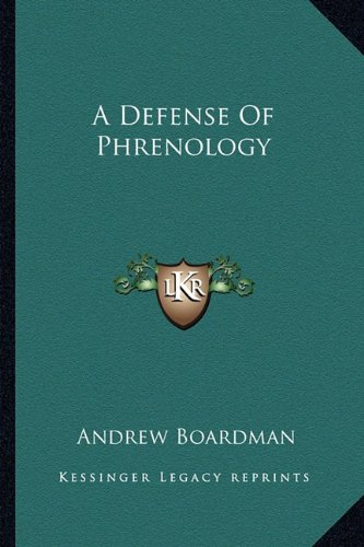 9781162952062: A Defense of Phrenology
