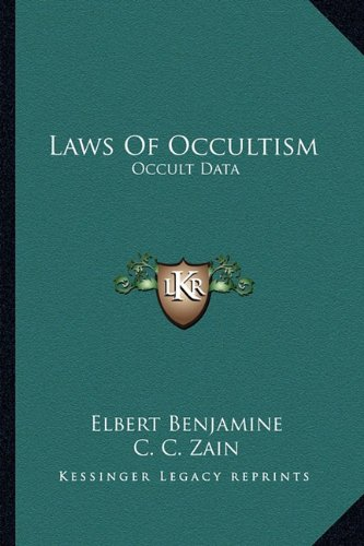 9781162957326: Laws Of Occultism: Occult Data
