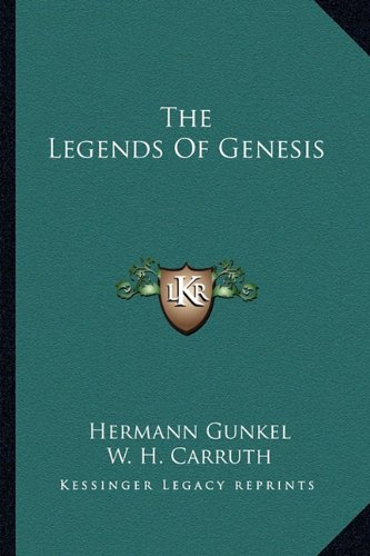 9781162964348: The Legends Of Genesis