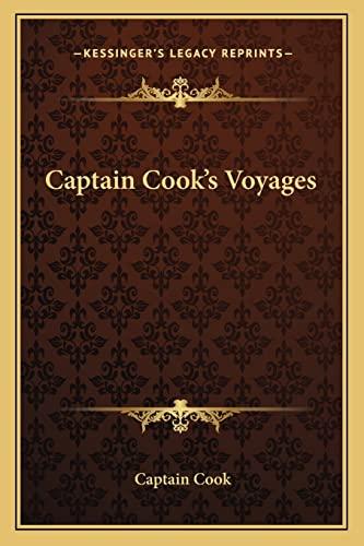 9781162964621: Captain Cook's Voyages