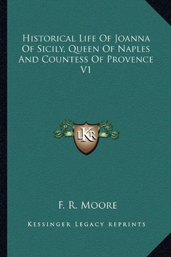 Historical Life Of Joanna Of Sicily, Queen