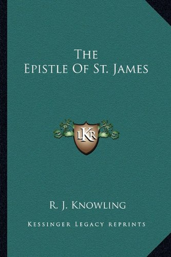 9781162966939: The Epistle Of St. James