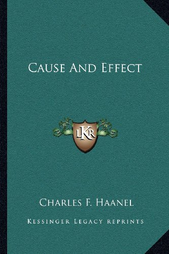 9781162981260: Cause And Effect