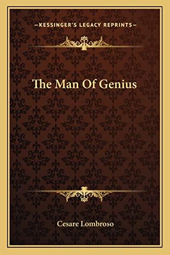 9781162983004: The Man Of Genius
