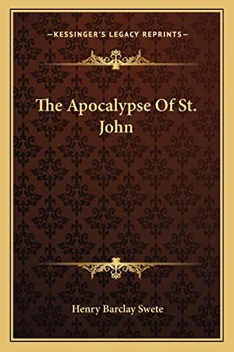 9781162983103: The Apocalypse Of St. John