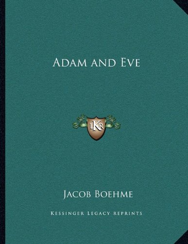 Adam and Eve 9781163006924 This scarce antiquarian book is a facsimile reprint of the original. Due to its age, it may contain imperfections such as marks, notations, marginalia and flawed pages. Because we believe this work is culturally important, we have made it available as part of our commitment for protecting, preserving, and promoting the world's literature in affordable, high quality, modern editions that are true to the original work.