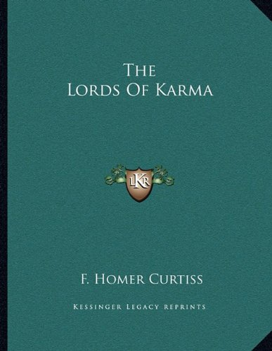 9781163014998: The Lords Of Karma