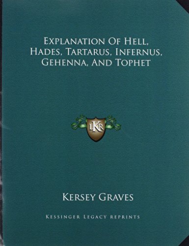 9781163021712: Explanation Of Hell, Hades, Tartarus, Infernus, Gehenna, And Tophet