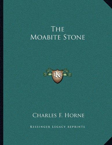 The Moabite Stone