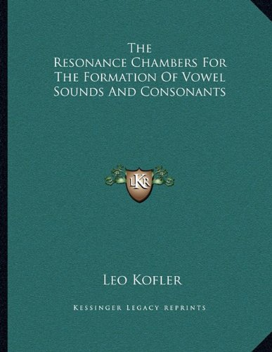 The Resonance Chambers For The Formation Of