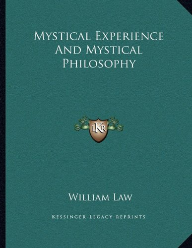 9781163037416: Mystical Experience And Mystical Philosophy