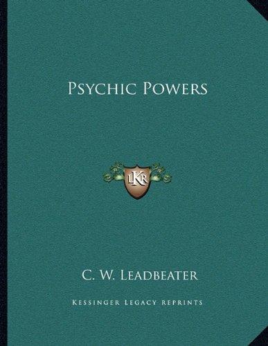 9781163038253: Psychic Powers