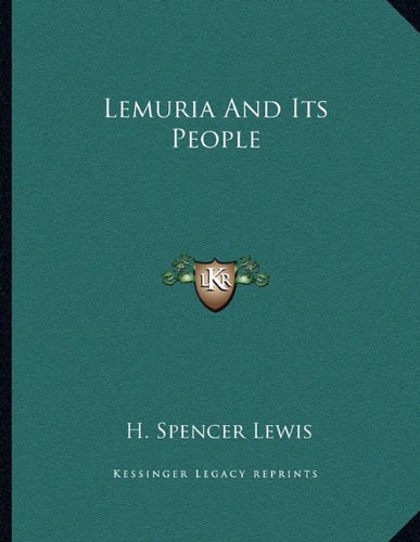 9781163039830: Lemuria And Its People