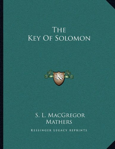 9781163044155: Key of Solomon