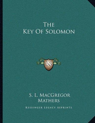 9781163044155: The Key Of Solomon