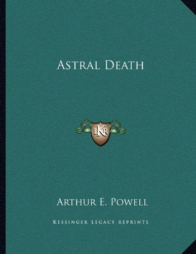 9781163049921: Astral Death