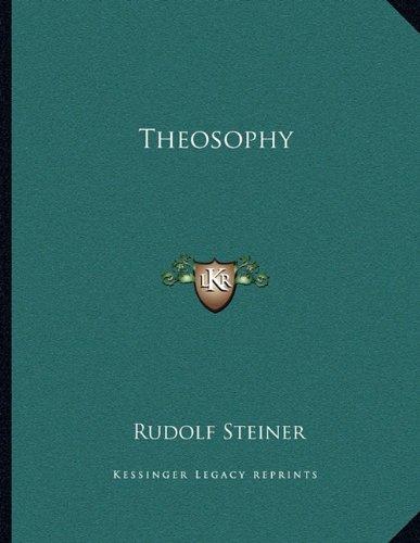 9781163057476: Theosophy