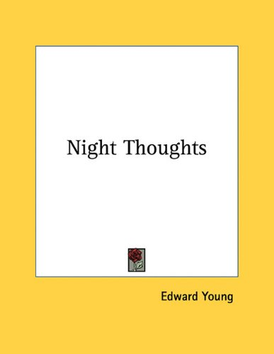9781163073292: Night Thoughts
