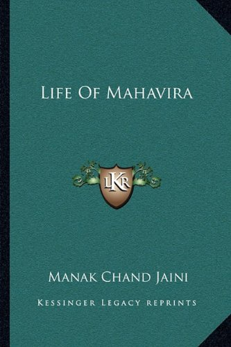 9781163080535: Life of Mahavira