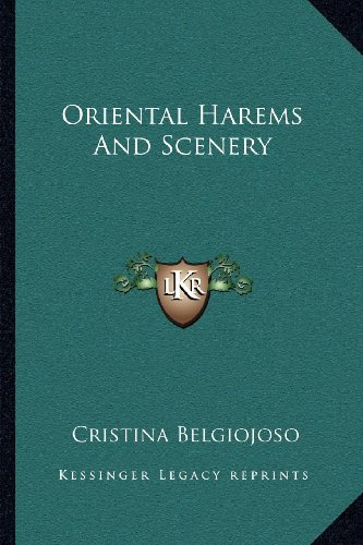 9781163116296: Oriental Harems And Scenery